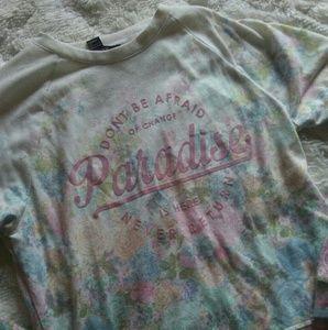 *CUTE* Floral Logo Sweatshirt Forever 21 ❤🌸